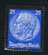 1934 4. Sept. Tod Hindenburgs Mi DR 553 Sn DE 441 Yt DR 508 Sg DR 550 M. G. Und Falz - Germania