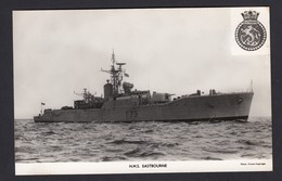 RPPC Modern Real Photo Postcard HMS Eastbourne Whitby Frigate Ship Royal Navy - Warships