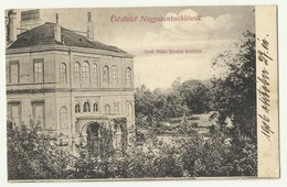 Romania -  Nagyszentmiklós - Grof Nako Sandor Kastely , Sânnicolau Mare , Used 1906 - Romania