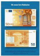 Die Neuen 50 Euro Banknoten - Münzen (Abb.)