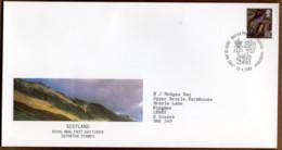 2000 25 April 65p Value Pictorial FDC EDINBURGH - Scotland