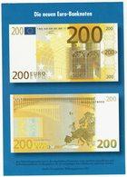 Die Neuen 200 Euro Banknoten - Monnaies (représentations)