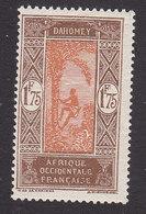 Dahomey, Scott #82, Mint Hinged, Man Climbing Oil Palm, Issued 1913 - Dahomey (1899-1944)