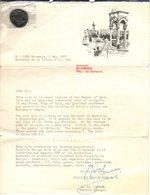 Replica Munt Shekel Uitgegeven Door Dicalite Europe Nord Gent 1971 Nr 7/10 - Jetons & Médailles