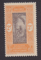 Dahomey, Scott #84, Mint Never Hinged, Man Climbing Oil Palm, Issued 1913 - Neufs