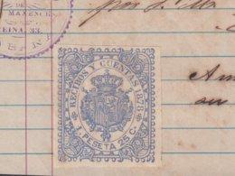 E6241 CUBA SPAIN ESPAÑA. 1878. LA SIN RIVAL. MUEBLERIA FURNITURE STORE ILLUSTRATED INVOICE. - Documentos Históricos
