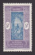 Dahomey, Scott #86, Mint Hinged, Man Climbing Oil Palm, Issued 1913 - Dahomey (1899-1944)