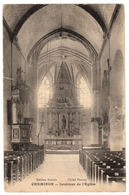 51 CHEMINON LA VILLE - Interieur De L'église - Cpa Marne - France