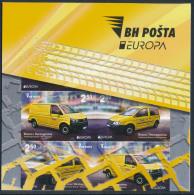 "BOSNIA/Bosnien Herzegowina BiH, EUROPA 2013 ""Postal Vehicles"" Booklet** - 2013"