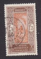 Dahomey, Scott #82, Used, Man Climbing Oil Palm, Issued 1913 - Dahomey (1899-1944)