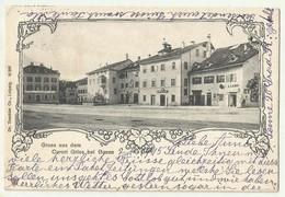 Gruss Aus Curort Gries Bozen , Apotheke Used 1905 - Bolzano (Bozen)