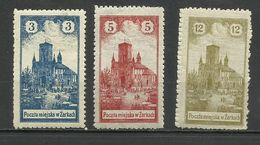 Poland 1918 Local Issue, Żarki ,MH - ....-1919 Gouvernement Provisoire