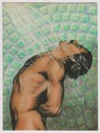 SHOWER FANTASY - By Paul Rodriguez - Ed ATHENA N° 9408 - Homme Moustachu Nu Sous La Douche - Hommes