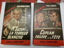 """Lot De 4 Revues Editions """" Fleuve Noir """" ( Espionnage ) - Livres, BD, Revues"""