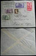 Italia 1932 Lettera Da Roma Per La Svizzera Affrancato Con Un Tot.1,25 Lire - 1900-44 Vittorio Emanuele III