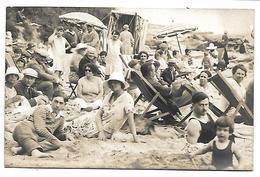 PORNIC - Groupe De Personnes - Juillet 1927 - CARTE PHOTO Format 132 X 85 Mm - Pornic