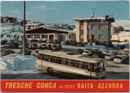 Tresché Conca (Roana, Vicenza): Albergo Ristorante Baita Azzurra. Viaggiata 1977 - Vicenza