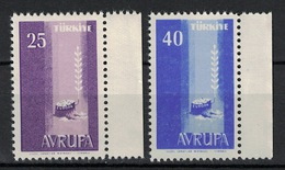 Turkey/Turquie/Türkei 1958, Europa - Avrupa **, MNH - 1921-... Republiek
