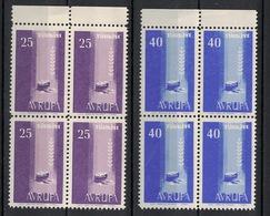 Turkey/Turquie/Türkei 1958, Europa - Avrupa **, MNH, Block Of 4 - 1921-... Republiek