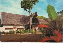 AFRICANA SEA LODGE, MOMBASA, KENYA -VIAGGIATA 1985,TIMBRO POSTE MOMBASA, - Kenia