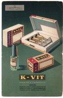 MEDICINE - ADVERTISING / PUBLICITE' K-VIT - ITALFARMACO - Salute