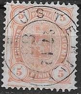 Finlande 1875 N°14 Oblitéré Série Courante - 1856-1917 Administration Russe