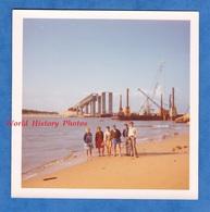 Photo Ancienne Snapshot - NOIRMOUTIER - Construction Du Pont - Aout 1970 - Ile Vendée Passage Du Gois - Luoghi