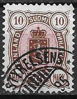 Finlande 1885 N°35 Oblitéré Série Courante Cote 110 Euros - Gebruikt