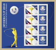 Timbre Ryder Cup à 2,60 € Neuf** - Frankrijk
