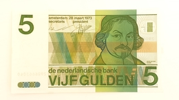 5 Golden 1973 P.95a Nederlande UNC - Nederland