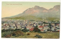 S7547 - Cape Town And Devil's Peak - Afrique Du Sud