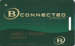 Boyd Gaming Casinos Slot Card - Color Logos On Back - Casino Cards