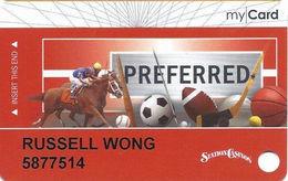 Station Casinos Las Vegas, NV - Slot Card Copyright 2010 - Preferred My Card - Casino Cards