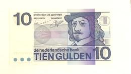 10 Golden 1968 P.91b Nederlande UNC - Nederland