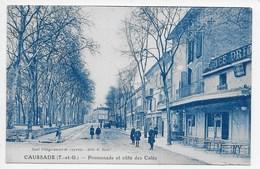 Caussade - Promenade Et Cote Des Cafes - Caussade