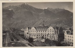 MERANO-BOLZANO-HOTEL=EMMA= CARTOLINA VERA FOTOGRAFIA- VIAGGIATA IL 2-11-1936 - Merano