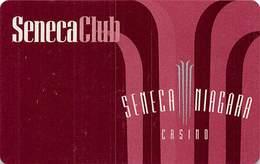 Seneca Niagara Casino - BLANK Slot Card - No Phone# On Reverse - Casino Cards