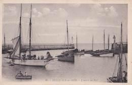 CPA : Belle Ile En Mer ,    L'entrée Du Port     Arthaud N° 31 - Belle Ile En Mer