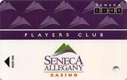 Seneca Allegany Casino - Allegany NY - BLANK Slot Card - Casino Cards