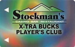 Stockman's Casino Fallan, NV - BLANK Slot Card - Casino Cards