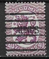 Aunus 1919 N°4 Oblitéré Série Courante - Finlande