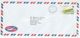 2001 SEYCHELLES Cover FISH KILLIFISH Stamps CONCORDE AIRCRAFT Pic Aviation To GB Airmail - Seychelles (1976-...)
