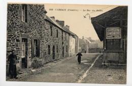 1668. Carhaix. La Rue Des Halles. (publicté Chicorée Cantiniere) - Carhaix-Plouguer