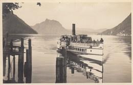 SANTA MARGHERITA-LANZO D'INTELVI- FUNICOLARE-COMO-CARTOLINA VERA FOTOGRAFIA NON VIAGGIATA-ANNO 1930-940 - Como