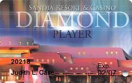 Sandia Casino - Alburquerqe, NM - Diamond Slot Card 02/07 - Casino Cards