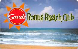 Sands Regency Casino - Reno, NV -  BLANK Slot Card - Casino Cards