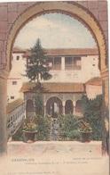 Cpa 2 Scans -Granada El Generalife Patio De La Acequia - Granada