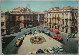 CATANIA - Piazza Bellini - Auto Cars Parking Bus Camion - Vg S2 - Catania