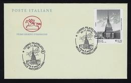 """2013 ITALIA REPUBBLICA """"MOLE ANTONELLIANA"""" FDC CAVALLINO (ANN. TORINO) - 6. 1946-.. Repubblica"""