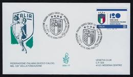 """2018 ITALIA """"120° ANNIVERSARIO FONDAZIONE FIGC"""" FDC VENETIA - 6. 1946-.. Republic"""